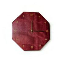 Living Room Clock Wood Wall Clock Home Decor