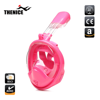 China silicone material child full face snorkel mask