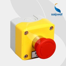 Saipwell IP65 Waterproof CE Electrical Emergency Stop Push Button Switch