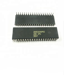 Electronics Components Z84C0006PEC Z80 CPU DIP-40 Central processing unit  integrated circuit IC