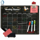 Logo Customization Chalkboard 2.6 High Quality Magnetic Chalkboard Easy Erasable Magnetic Chalk Board Magnetic Chalkboard Calendar