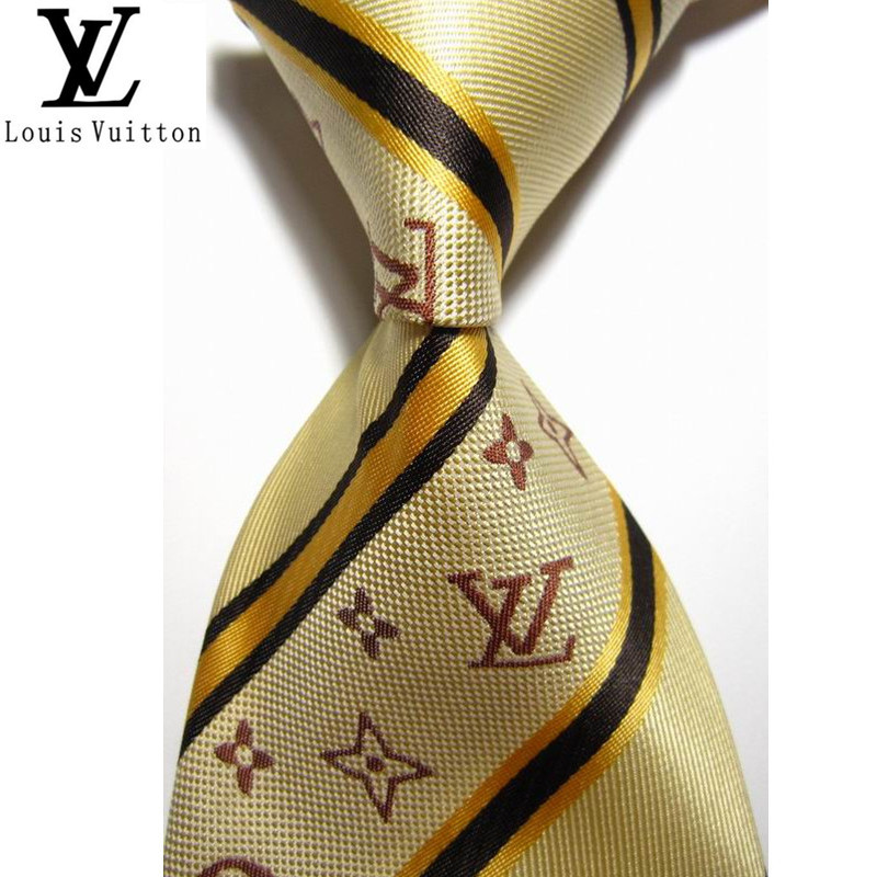 6153b39a6c2 Get Quotations · 2015 Design Striped Gold Fashion Brand Ties For Men  Business Silk Knit Necktie Free Shipping