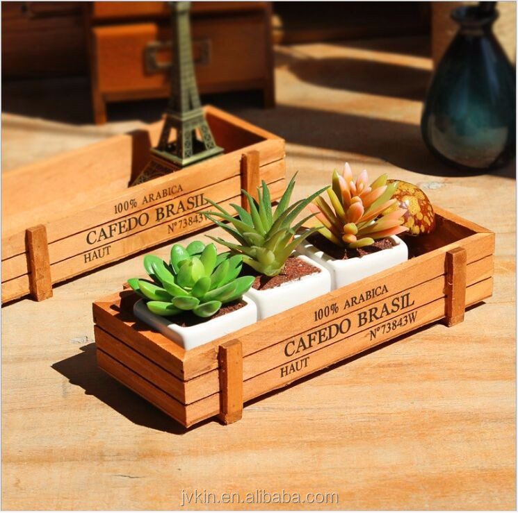 Hot sale Taobao desktop storage box square sundries flower pot storage box
