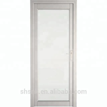 Aluminium Alloy Frame Tempered Glass Interior Doors Buy Frosted