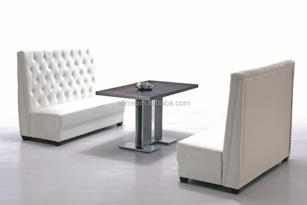 Alime modern restaurant sofa bench seat buy modern - Kitchen table booth seating ...