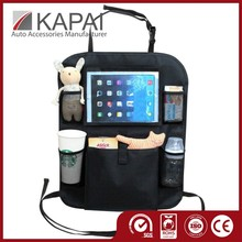 High quality backseat car organizer with Ipad holder