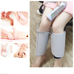 Great Factory Price Portable Home use Electric Wireless Air Leg thigh massager