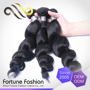 Custom Made High-End Handmade Soft And Shiny Braids Crochet Unprocessed S Wave Hair Extension With Human Hair