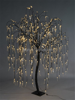 Height 8ft Led Artificial Willow Tree Light Buy Led