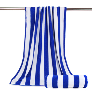 Sand Proof Outdoor Beach Blanket Wholesale Oversized Baseball Turkish Custom Microfiber Cabana Striped Beach Towel