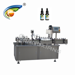Shanghai factory glass dropper liquid filling machine,small bottle filling machine