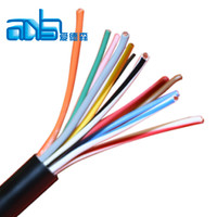 umlti-core flat/round white telephone cable drop wire
