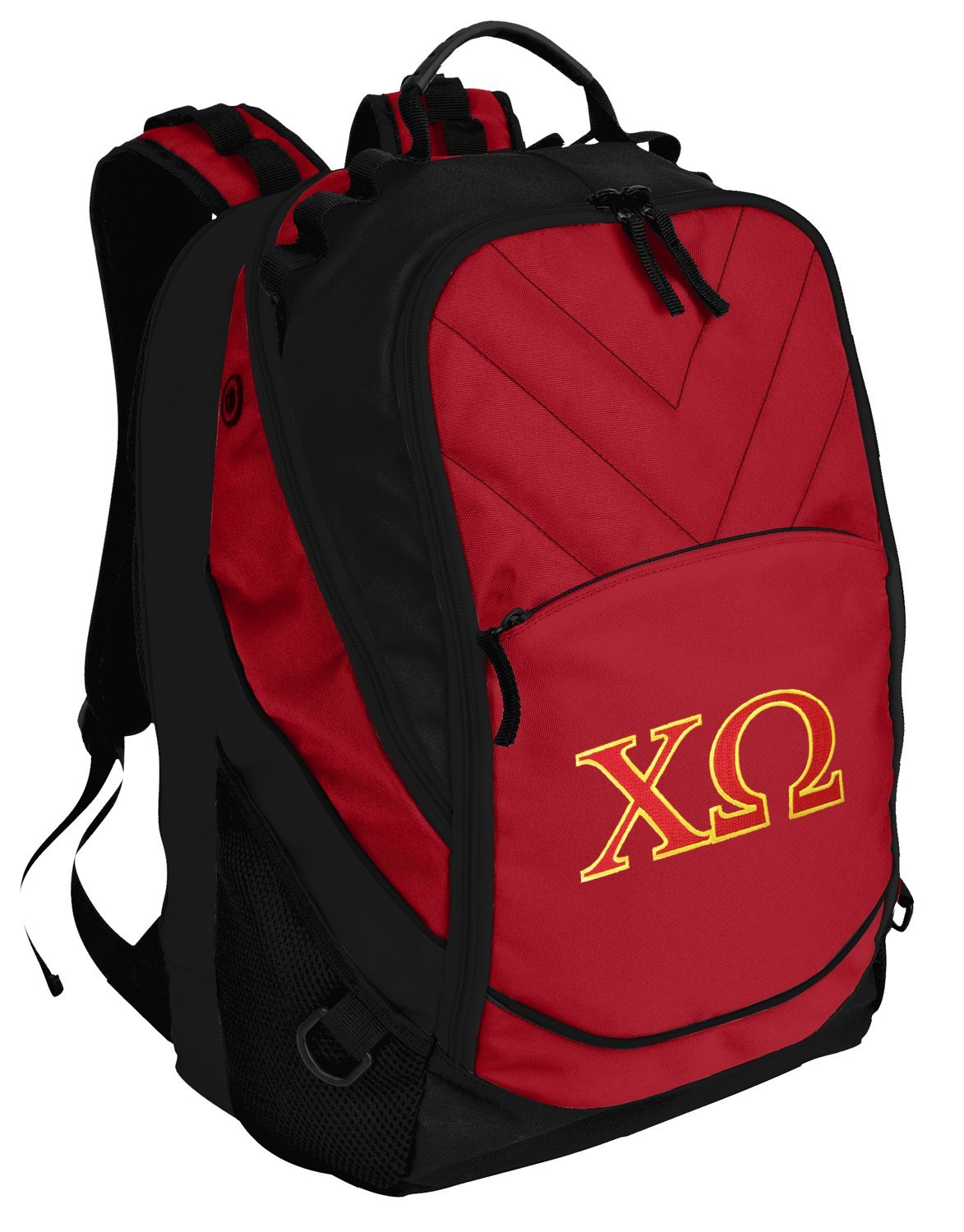 Chi O Backpack Red Chi Omega Laptop Computer Bags