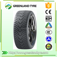 China Greenland Tyre Company Supplied 225/50R17 Commercial High Quality PCR Small Car Tyre 185/70R14 195/65R15