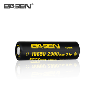 BASEN Rechargeable 18650 Small Battery/IMR18650 BS186N 2900mah BASEN 35A Discharge
