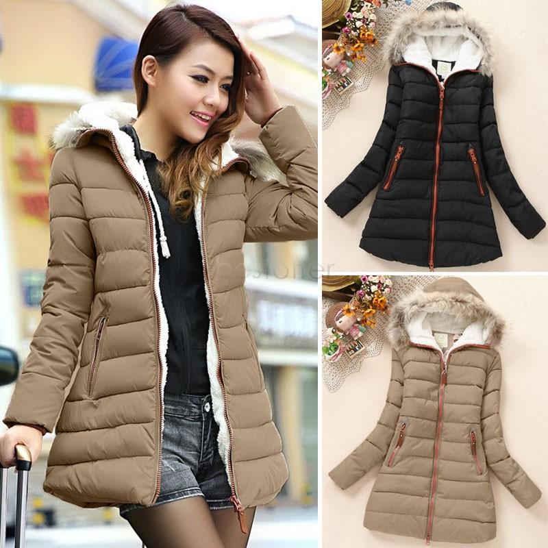f57ec80f277f Brown Winter Coat Ladies - Sm Coats