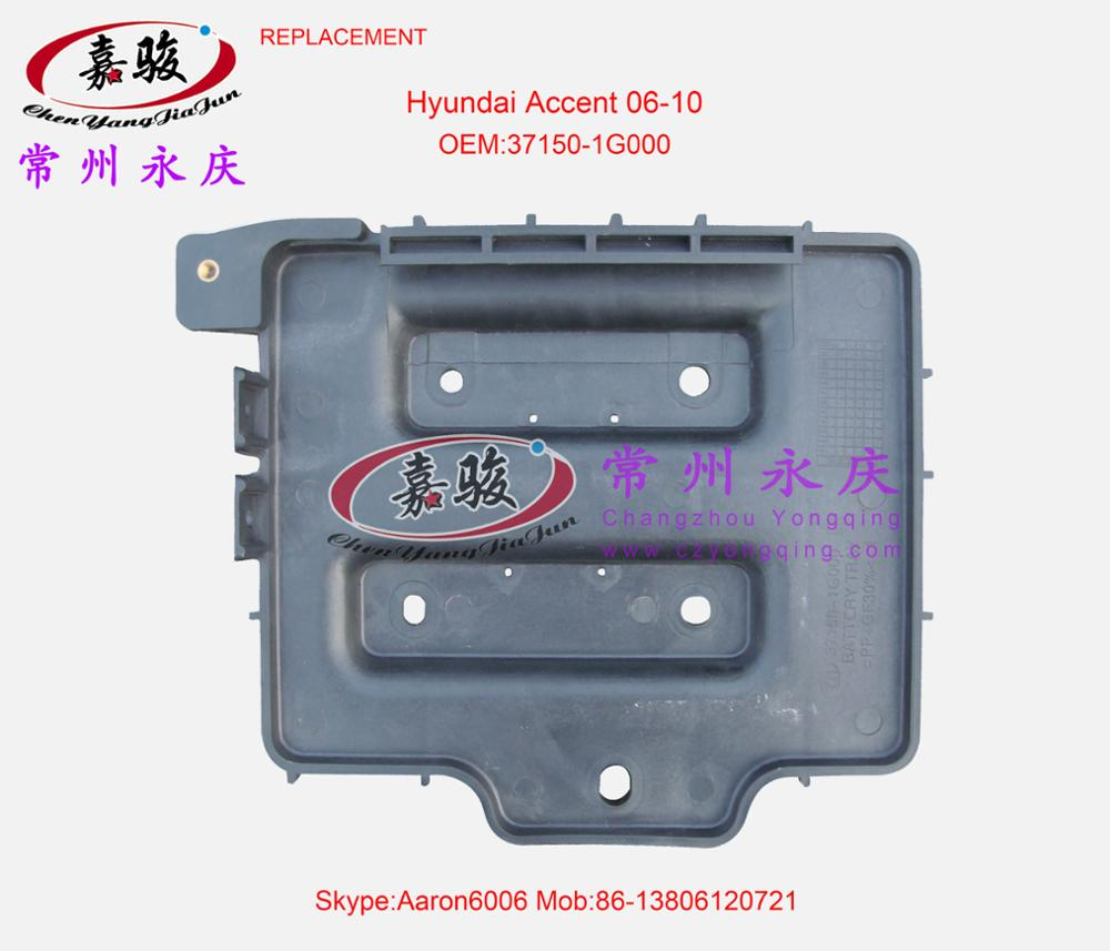 Genuine Hyundai 37150-1G000 Battery Tray Assembly