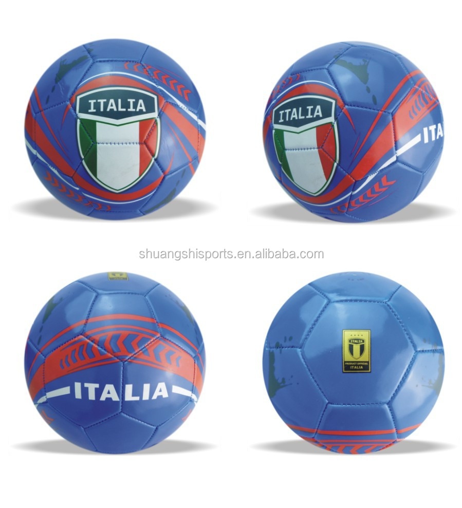 factory directly sale country flag soccer ball/football,international flag soccer ball/football