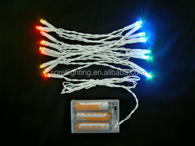 Single Battery Operated Mini Led Lights For Crafts