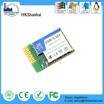 Industrial Low Power Serial Uart To Wifi Module With Ti Cc3200 Chip - Buy  Uart To Wifi Module,Uart To Ethernet Module,Usr-c322 Product on Alibaba com