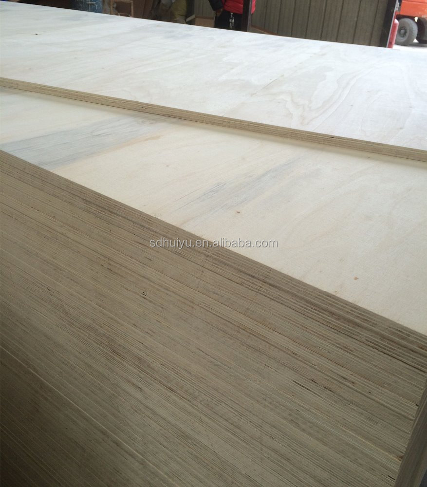 3mm white birch plywood with carb p2 certificate plywood for America market