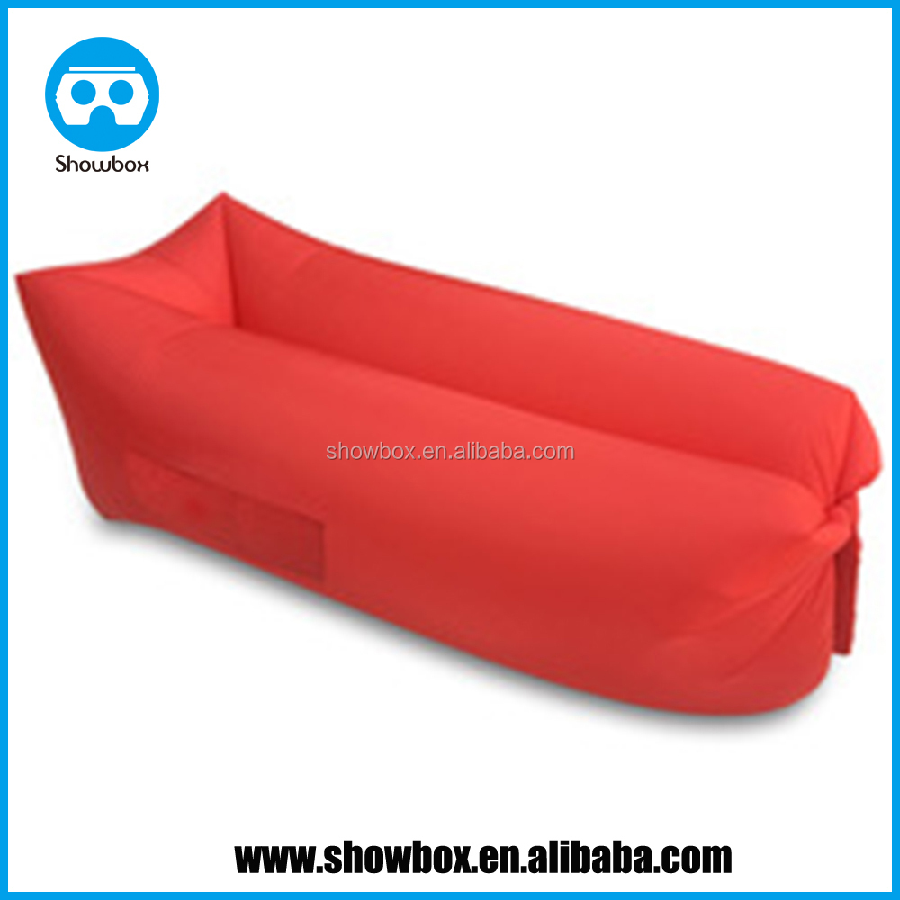 Inflatable Air Sofa Beach lay bag Hangout sleep Air Bed Lounger laybag Outdoor fast inflatable folding sleeping lazy bag