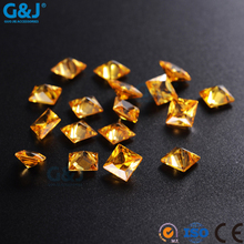 guojie brand unique design rhinestone square shape chaton for jewelry making crystal stone