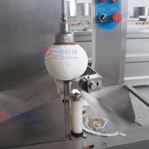 New design tender young green coconut peeling trimming machine