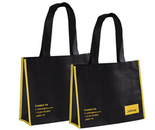 China Factory new design wholesale laminated non woven fabric tote shopping bag with low price and accept custom