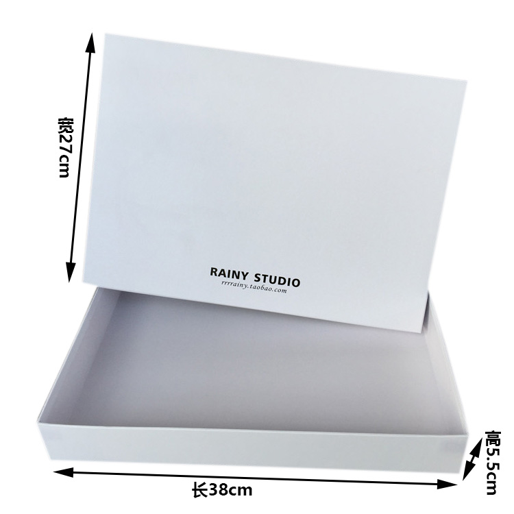 Printed packaging new style gift cloth chocolate customized packaging box