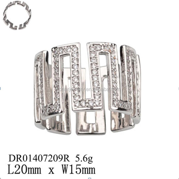Hot Sterling Silver Price Per Gram Geometry Men S Ring Design Jewelry