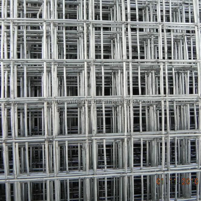 1 4 Inch Galvanized Welded Wire Mesh Fence/2x2 Galvanized Welded ...
