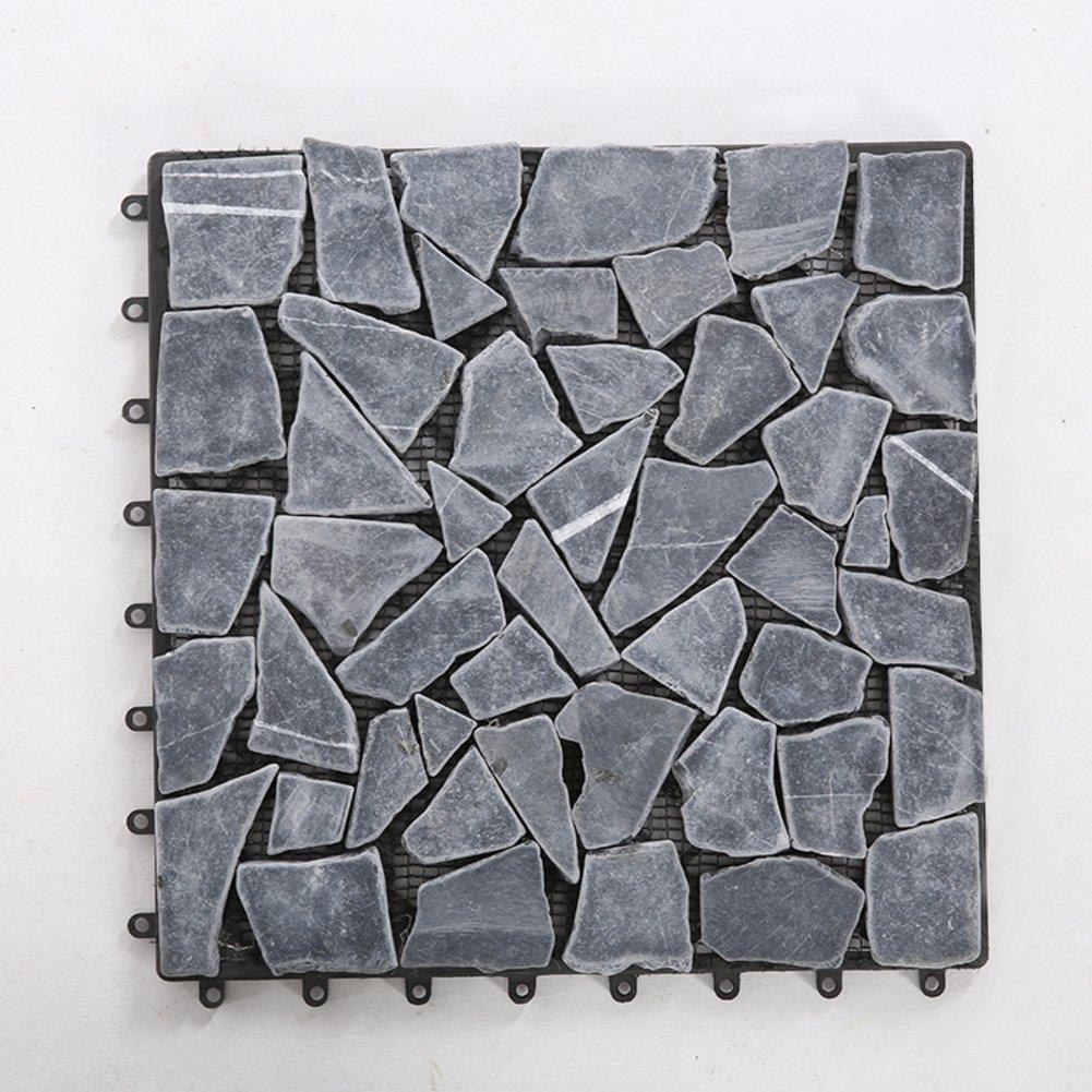 Diy wood flooring/marble flooring/diy stone mosaic flooring/outdoor flooring/wood flooring-A 30x30cm(12x12inch)