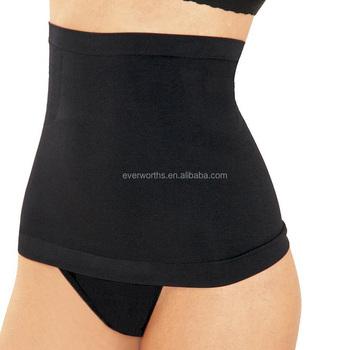 f5b2d34a4a7085 Women Seamless Waist Cincher Girdle Tummy Slimmer Sexy Thong Panty Shapewear