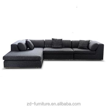 Indian Sofa Set U Shaped For Living Room Modern Dark Fabric View Larger Image