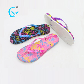 68e5502a2593 Latest wholesale plastic shoes flip flops women flat sandals slippers