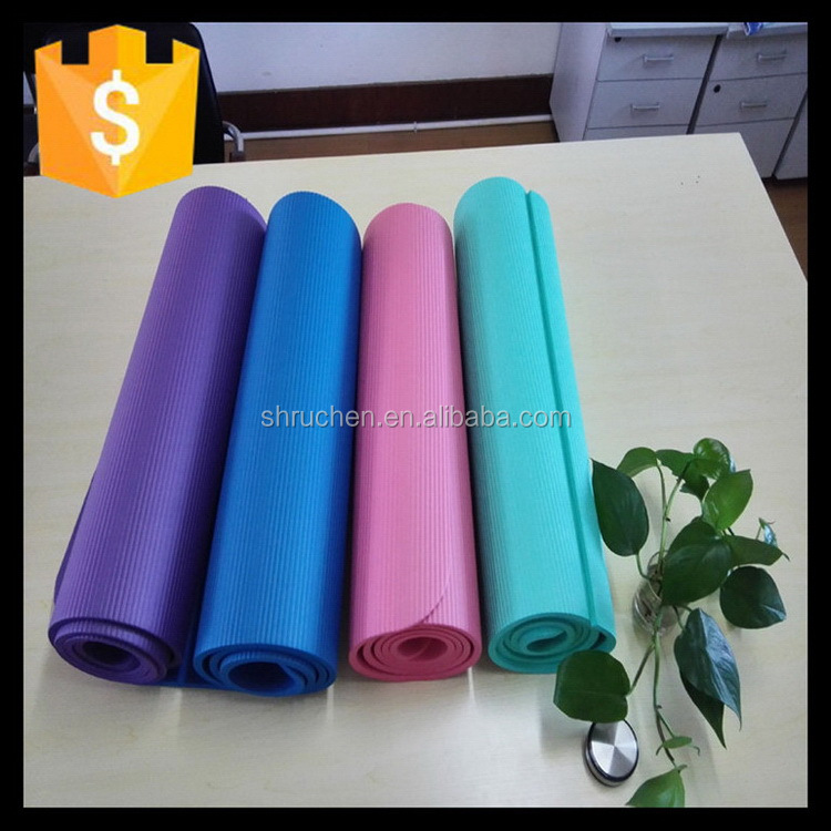 Eco-friendly hotsell safety high density nbr yoga mat