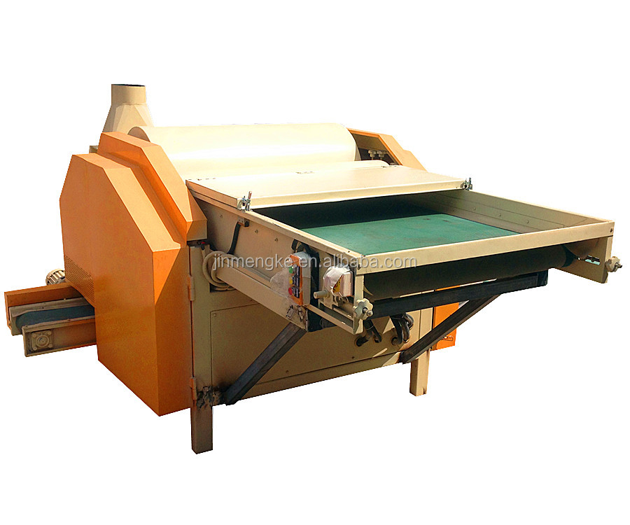 woollen carding waste recycling machines made by KINGTECH