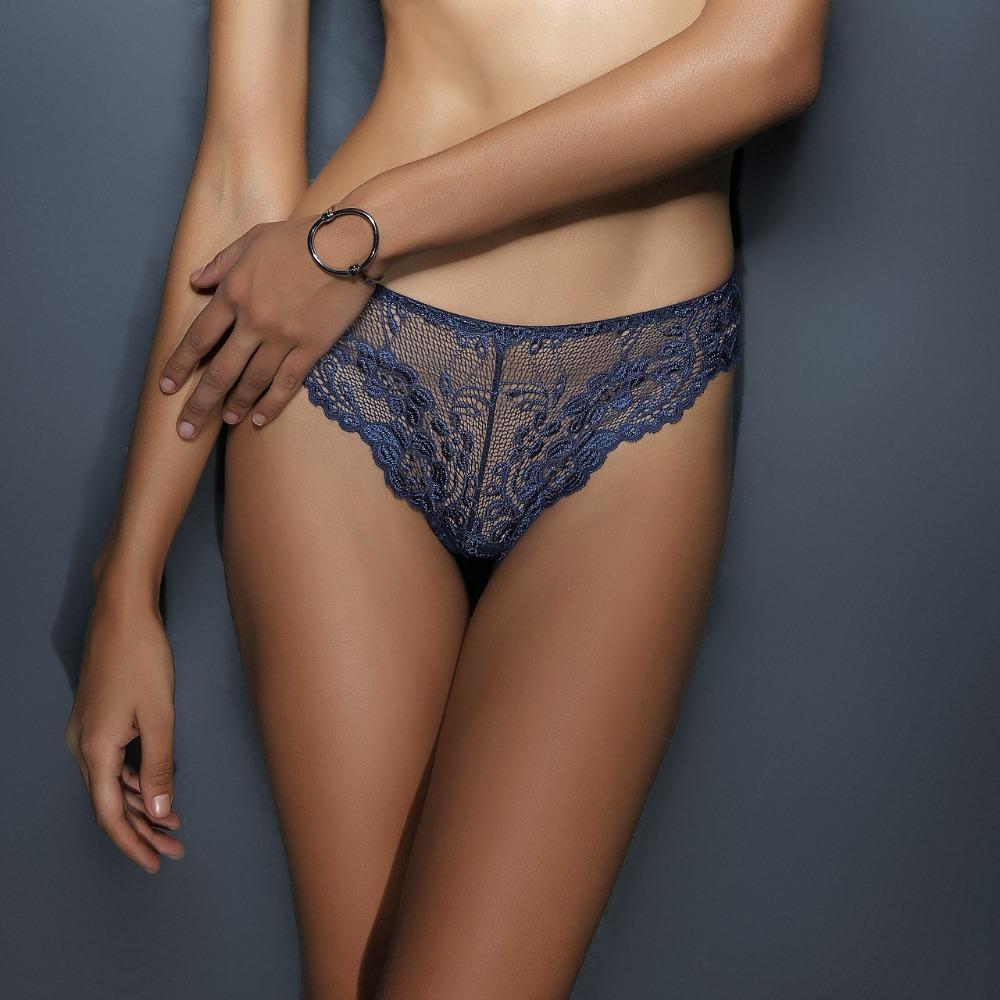 2a23a3211916 B32470A Fashion Show Sexy Mature Women Fancy Transparent Lace Lingerie  Panty Thong