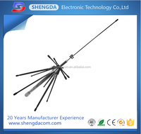 Diamond Mobile Mini Discone Antenna (100 to 1600MHz for receiving) (144/440/904/1200MHz for transmitting) use for car truck van
