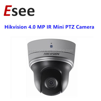 Hikvision 4mp Ir Mini Ptz Camera Ds-2de2402iw-de3 Support Hik-connect - Buy  Hikvision Mini Ptz Camera,Ds-2de2402iw-de3,4mp Ptz Camera Product on
