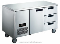 OEM service Commercial undercounter refrigerator with drawers