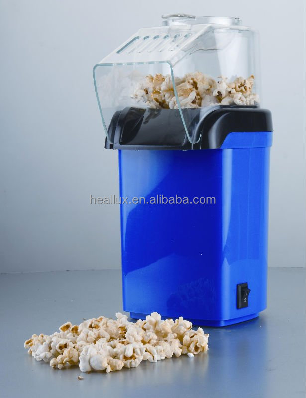 1200W 60g Hot Air Popcorn Maker With ETL For Home Use PCM-02