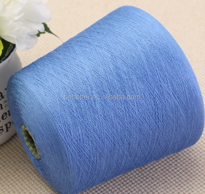 1/4.3 nm combed gassed mercerised cotton yarn