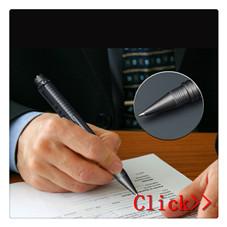Hohe Qualität Selbstverteidigung Taschenlampe Titan Tactical Pen