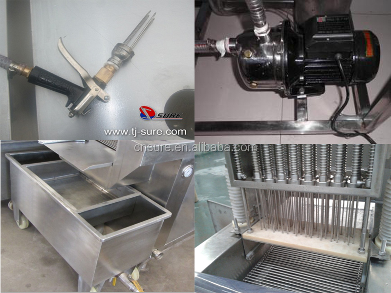 Stainless Steel Automatic Chicken Breast Saline Injection Machine SURE