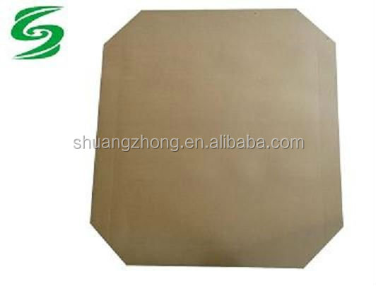 recycle moisture resistant brown kraft paper slip slide plate for pallet
