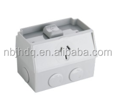 Australian IP53 1 gang 250v 15a weatherproof wall switch socket