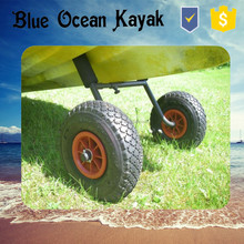 2015 hot sale Blue Ocean kayak trolley/fishing kayak trolley/sea or ocean kayak trolley