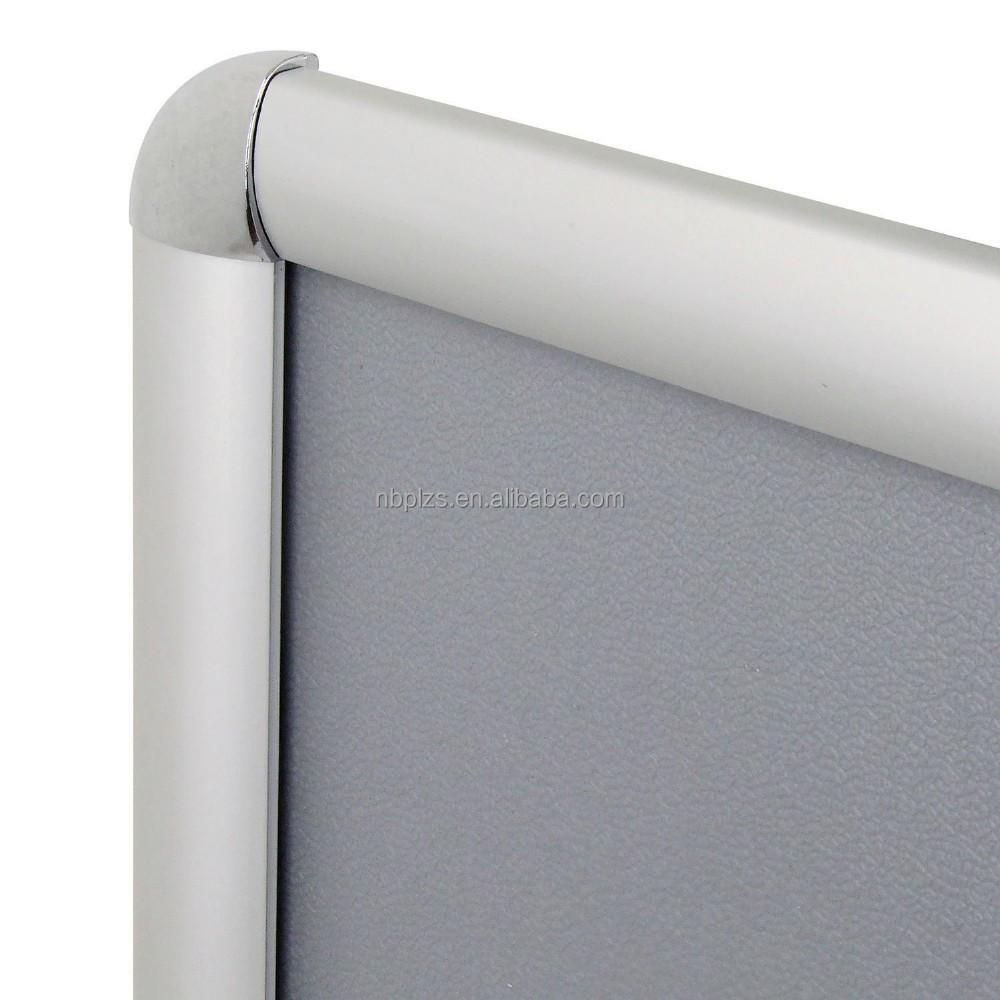 A2 snap cartel marco de aluminio clip marco Mitra a las esquinas de ...